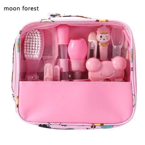 Baby Health Care Set Portable Newborn Baby Tool Kits Kids Grooming Kit Safety Cu…