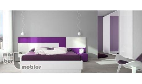 Dormitorio con canapé abatible Neox 4