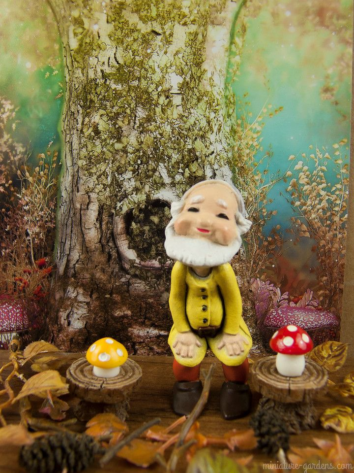 Gnome In Garden: Top 290 Ideas About Miniatures For The Fairy Garden On