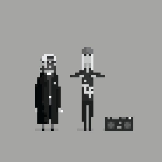 8 of Your Favorite Cult Movies Brought to Life as 8-Bit GIFs | Clerks    Dusan Cezek  | WIRED.com