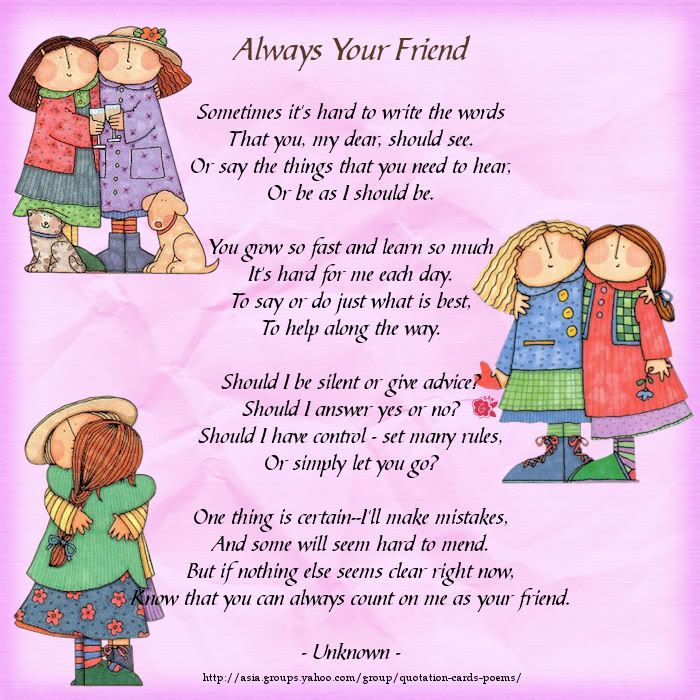 Poems About Friendship | Free Wallpapers | Animals ...