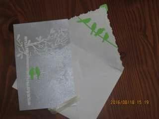 invitation pour anniversaire de mariage 25 ans avec enveloppe fait à la main.  handmade anniversary 25th anniversary ans handmade enveloppe