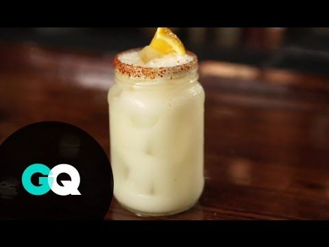 Still reeling from a holidays-induced food coma? Kick back into gear with the tigre blanco: a tequila-based cocktail featuring horchata, a little bit of O.J....