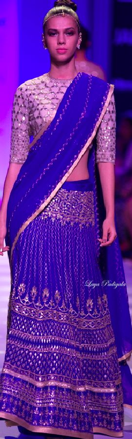 Anita Dongre Fall/Winter 2014-15 Lakme Fashion Week ❋Laya Padigala