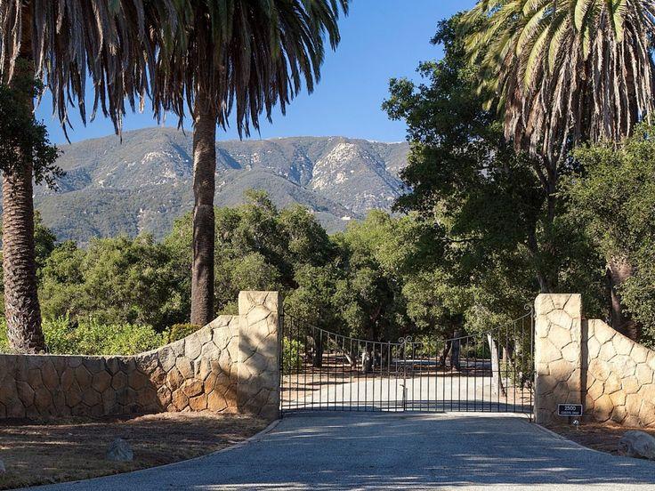 Роскошное ранчо Сан-Карлос в звездном поселке Монтесито, Калифорния
