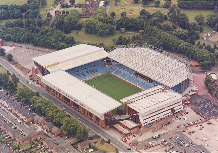 Villa Park-home to Aston Villa