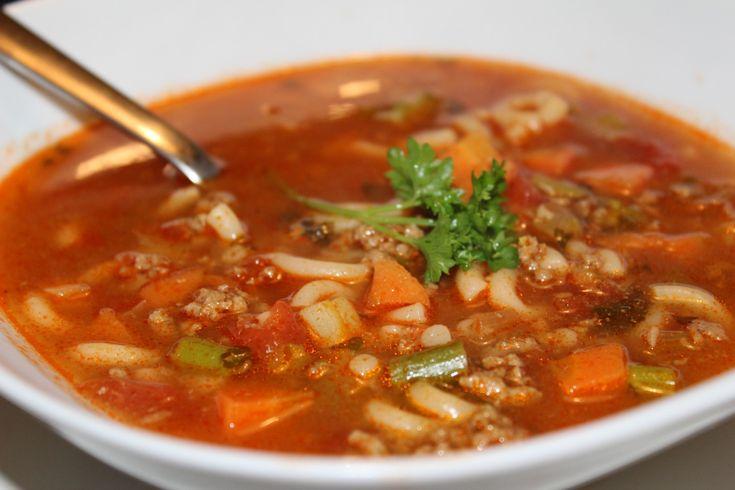 Sund krydret suppe med oksekød.. | Anna Due