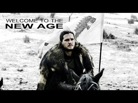 (GoT) Jon Snow - The King in the North // Welcome to the New Age - YouTube
