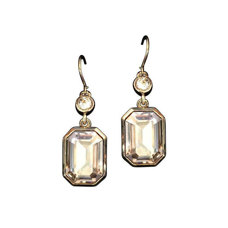 Diane earrings Silver shade