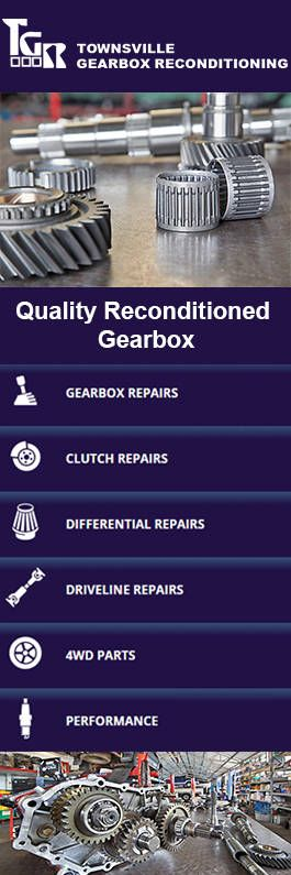 Townsville Gearbox Reconditioning is a professional vehicle workshop that have specialized team of gearbox repair, replacement, fitting and supply of spare parts, clutches, differentials and drivelines. We are delivering our services from Townsville to Cooktown, Rockhampton and Mount Isa, over 17 years. Get in touch with us for more information.