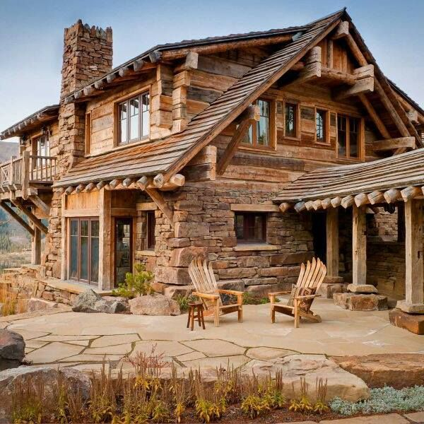 506 best images about log cabins swiss chalets russian for Wood cabin homes