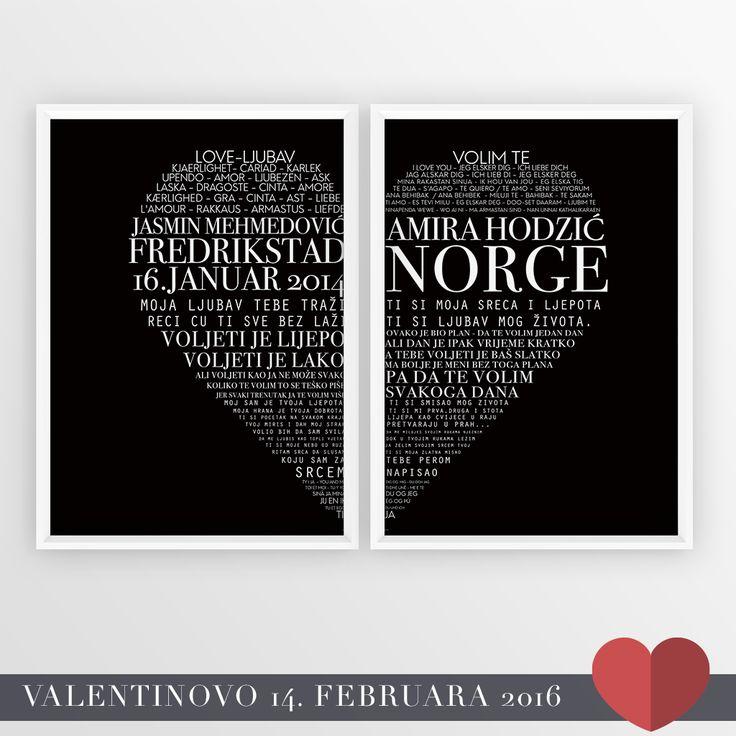 Valentinovo - Srce 2 (Sa Vasim Podatcima)