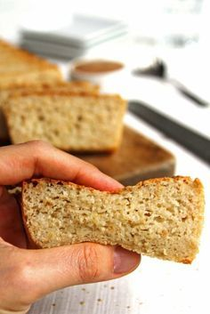 Receita de pão vegano rápido e fácil com farinha de arroz, aveia e polvilho doce