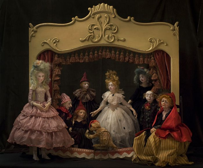 Anna Brahms Carnival Puppets!!!  Oh my~