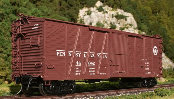 Freight Cars 122596: Atlas O Usra Single Sheathed Box Car