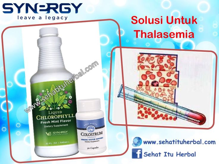 Solusi Untuk Thalasemia - Sehat Itu Herbal
