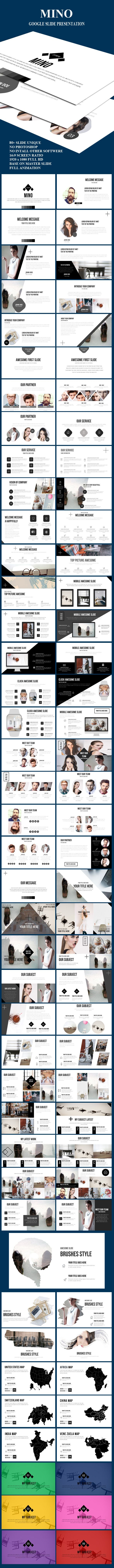 Mino Google Slide PowerPoint Presentation Template