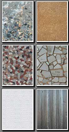 "Free Printable Scrapbook Patterns, ""Bricks and More"""