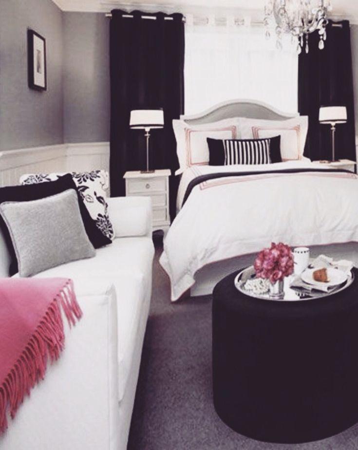 Black And White Modern Bedroom Decor Ideas | Modern Bedroom Design | Contemporary  Bedroom | Bedrooms