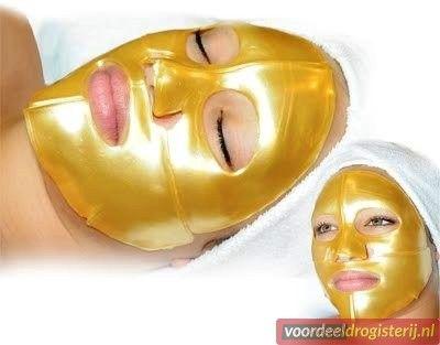 💛  zo voel je je helemaal als een prinses met dit gouden masker 💛  Dit moet ik uitproberen! ✨  Gold Bio Collagen - Gezichtsmasker Dit luxe Aziatische Gold Bio - Collagen gezichtsmasker bevat puur goud, natuurlijke ingrediënten en hydrateert de huid voor een jonger uitziende uitstraling.