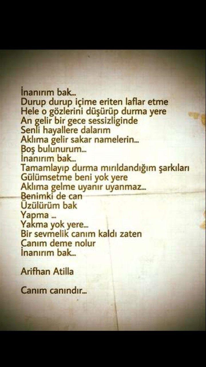 İnanırım bak Arifhan Atilla