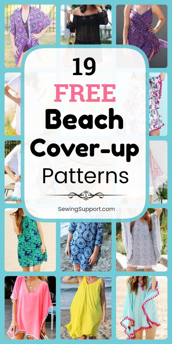 Beach Coverup Diy 19 Free Beach Coverup Wrap And Dress Patterns
