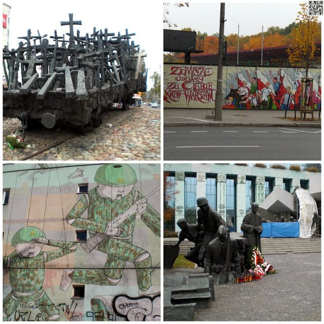 #Streetart #Arts #graffiti #monuments in #Warsaw