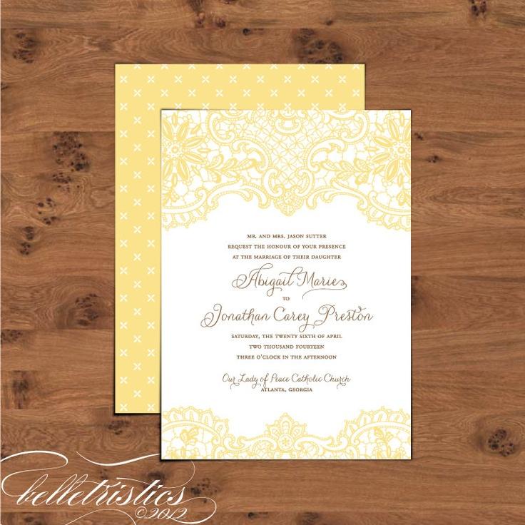 Printable DIY Wedding Invitation Set Hope