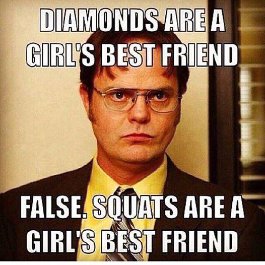 Diamonds are a girls best friend, FALSE