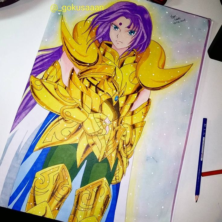 "373 curtidas, 14 comentários - dessin de manga (@_gokusaaan) no Instagram: ""Mû le chevalier d'or du bélier #anime #manga #drawing #animedrawing #animeart #mangaart…"""