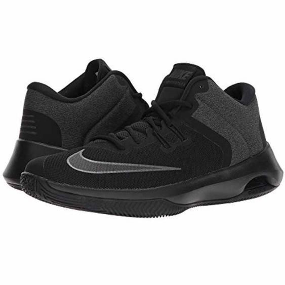b5bee00cb830 Nike Air Versitile II NBK Black   Grey AA3819-002 Men s New Basketball  sneakers  NikeAirVerstileii  BasketballShoes