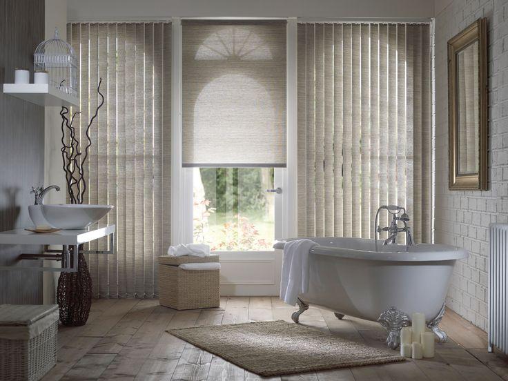 Home inspo! Bathroom Roller Blinds