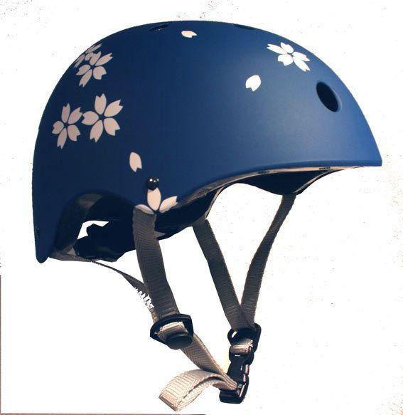 Necessary bike helmet.