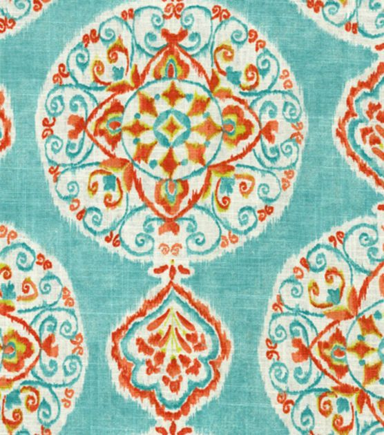Home Decor Print Fabric Dena Mirage Medallion Capri