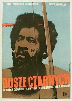 designer: Trepkowski Tadeusz poster title: Dusze czarnych year of poster: 1953