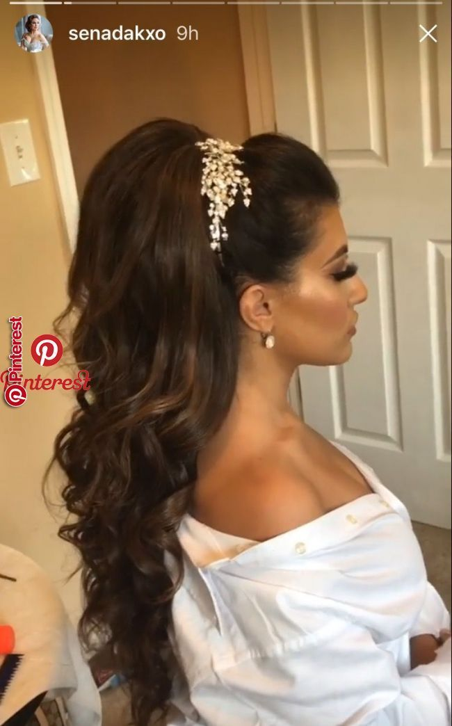 Pin By Morgan Jennings On Hairstyles In 2019 Estilos De Peinado Para Boda Peinados Elegantes Peinados Boda Civil
