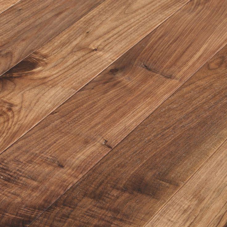 Millennium Walnut Oiled Natural Hand Scraped Flooring | Hand Scraped Wood Floors, Prefinished Engineered Hardwood Floors | Unique Wood Floors