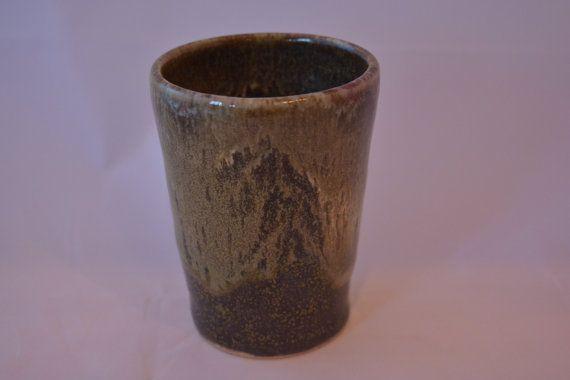 Tumbler cup Ceramic tumbler cup Pottery tumbler by BarbaraJWilson