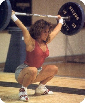 Robin Goad competed at the 2000 Sydney games, where women competed in weightlifting in the Olympics for the first time in history!! She went on to name her daughter Sydney, who now herself is a National-level lifter