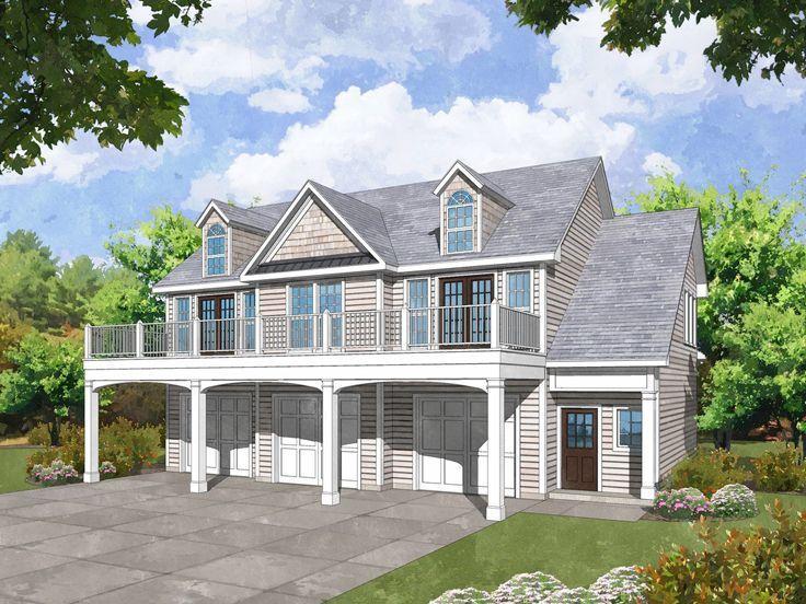 155 best 3Car Garage Plans images – Hillside Garage Plans