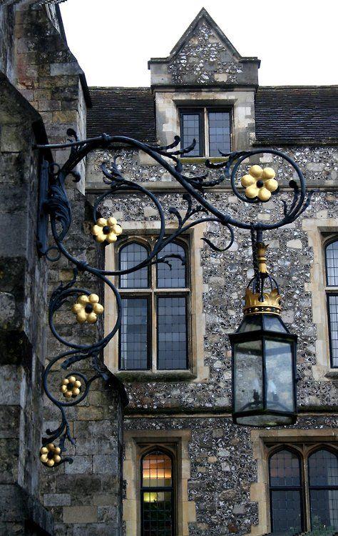 Lantern, Winchester, England photo via linxy - Blue Pueblo