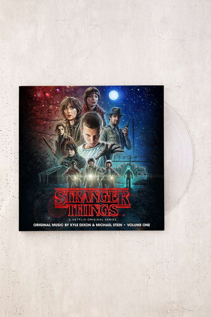 Kyle Dixon & Michael Stein - Stranger Things, Vol. 1 (A Netflix Original Series Soundtrack) LP