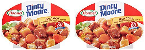 Traditional Hormel Compleats Dinty Moore Beef Stew, 10 Ounce (Pack of 6)