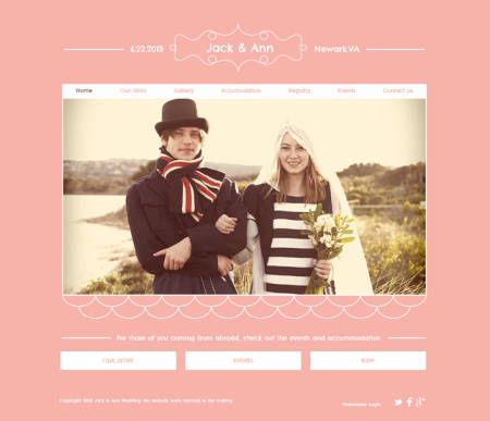 Free Wedding Templates For St