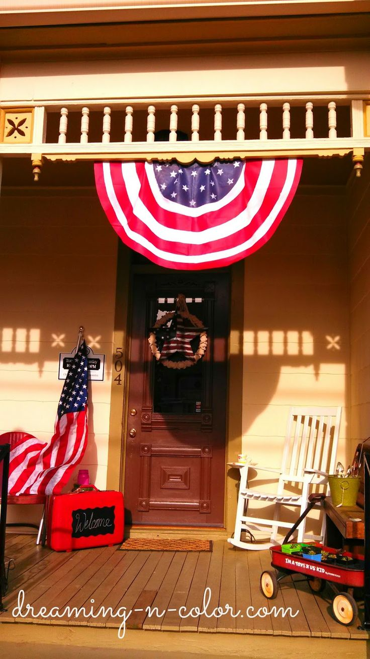 How to make a patriotic bunting