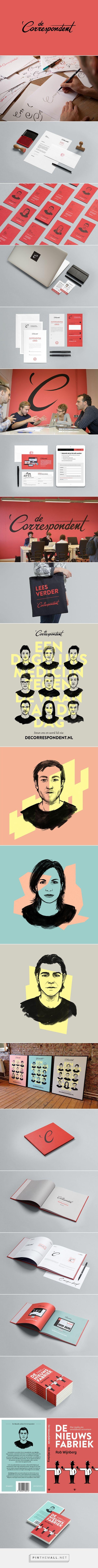 De Correspondent - Branding & Books by Momkai