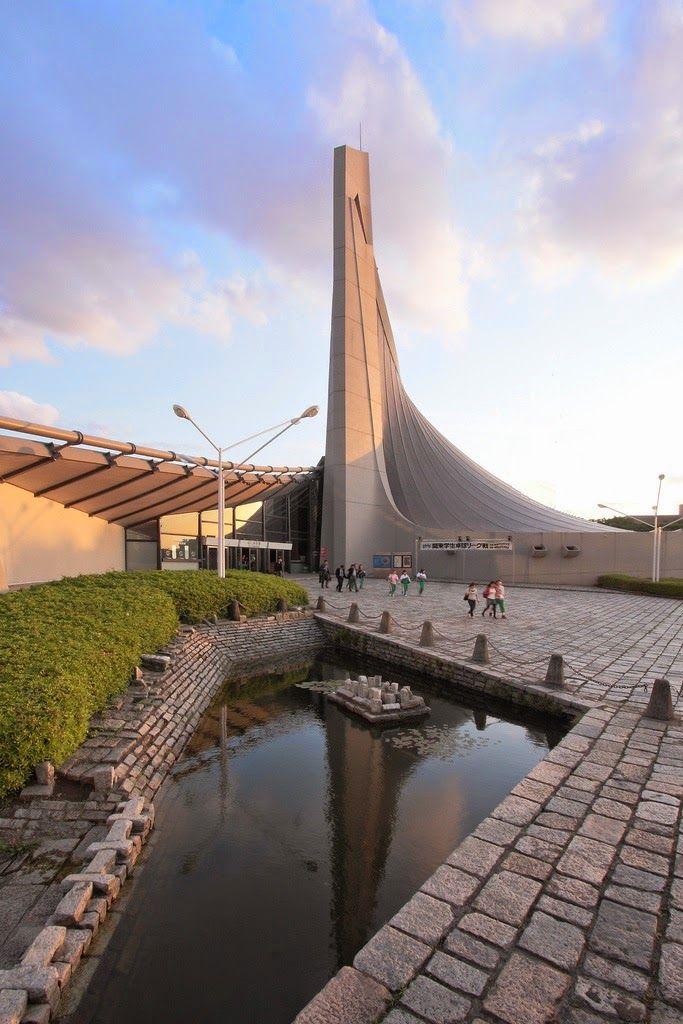 Tange Kenzō: Gimnasio olímpico, 1964, Tokio