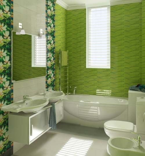 Bathroom With Spa Picture Of Green Bathroom Color Decorating Ideas