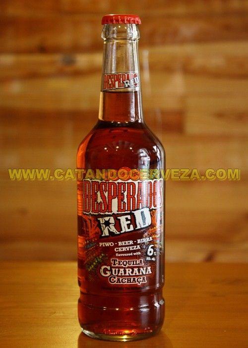Cerveza Francesa Desperados Red, #cerveza afrutada con tequila #diadelpadre