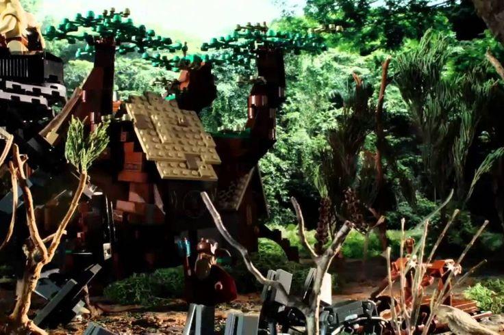 Middle-Earth Motors : laissez Radagast le Brun s'occuper de votre moteur #lego #hobbit
